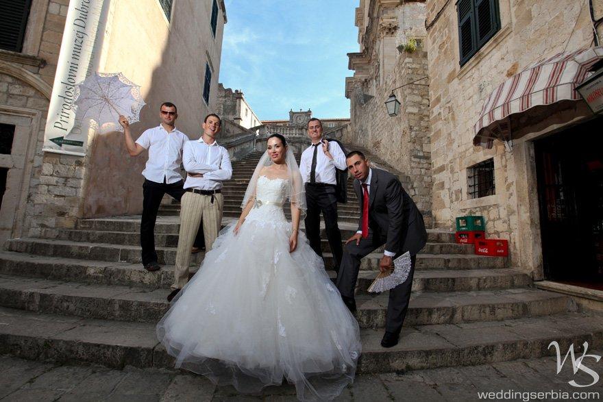 vencanje u dubrovniku, fotograf za vencanja