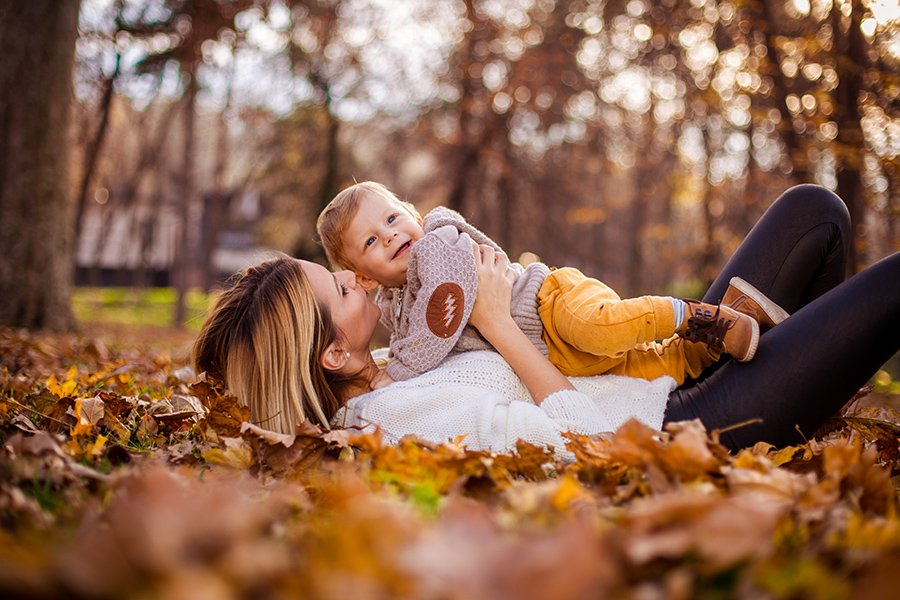 Autumn joy / Family photo session