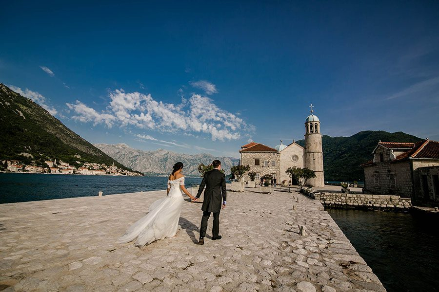 Montenegro wedding photography / Maja & Tom