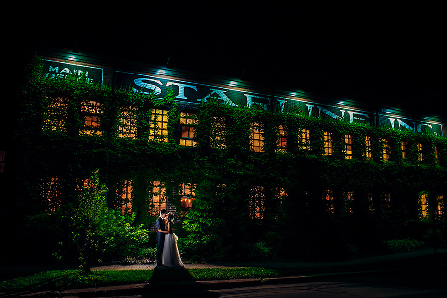 Taylor & Ryan/ Starline Factory Wedding