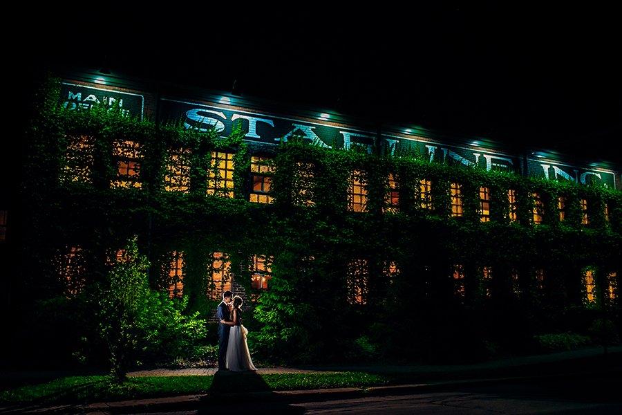 Taylor & Ryan/ Starline Factory Wedding