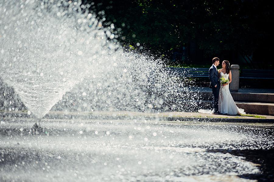 Sheraton hotel wedding / Leah & Jordi