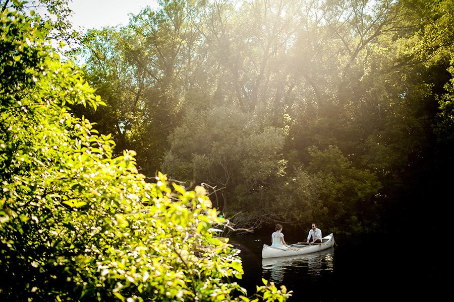 Camp Dewan wedding/Stephanie & Mike