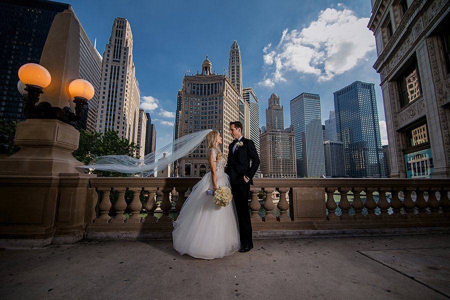 Congress hotel Chicago wedding / Tara & Jonhatan