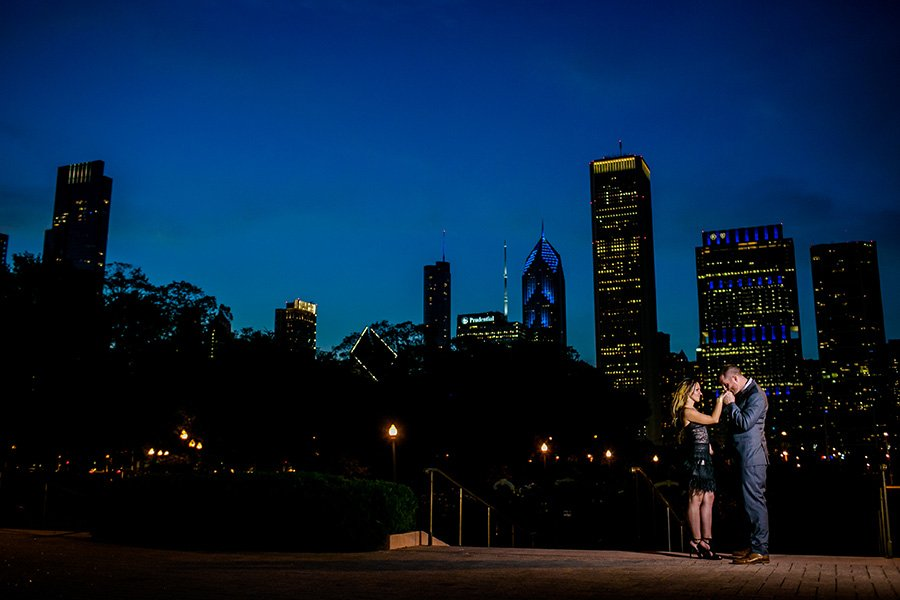 urban chicago engagement