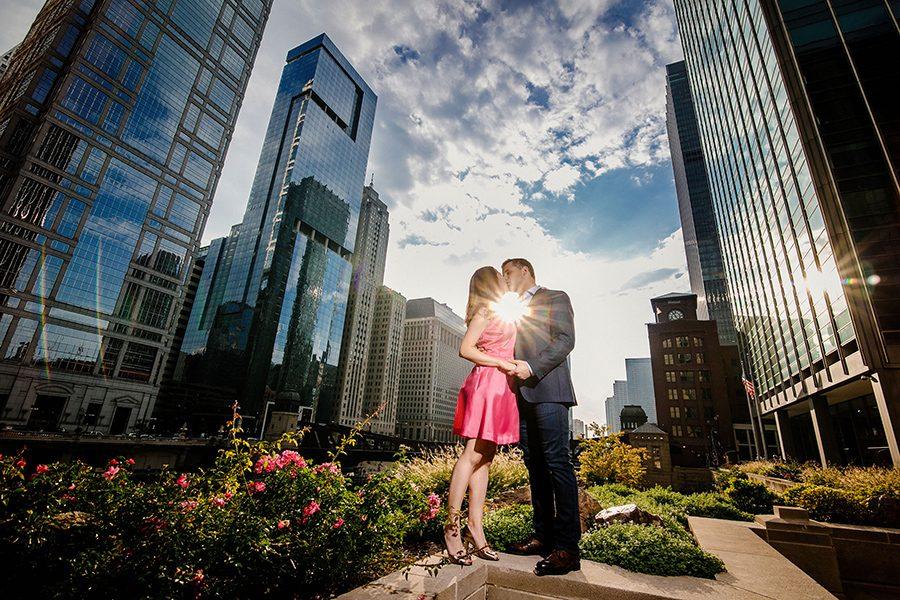 Chicago engagement photography/Alexandra & Andrew