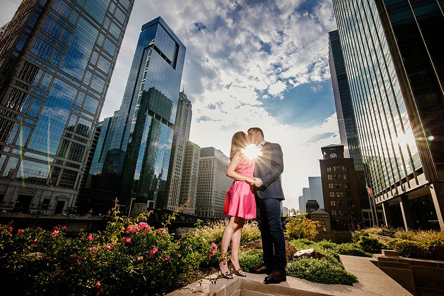 Chicago engagement photography/Alexandra & Andrew
