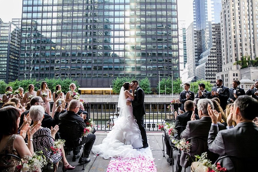 Rivers Chicago wedding / Mishawna & Nicholas