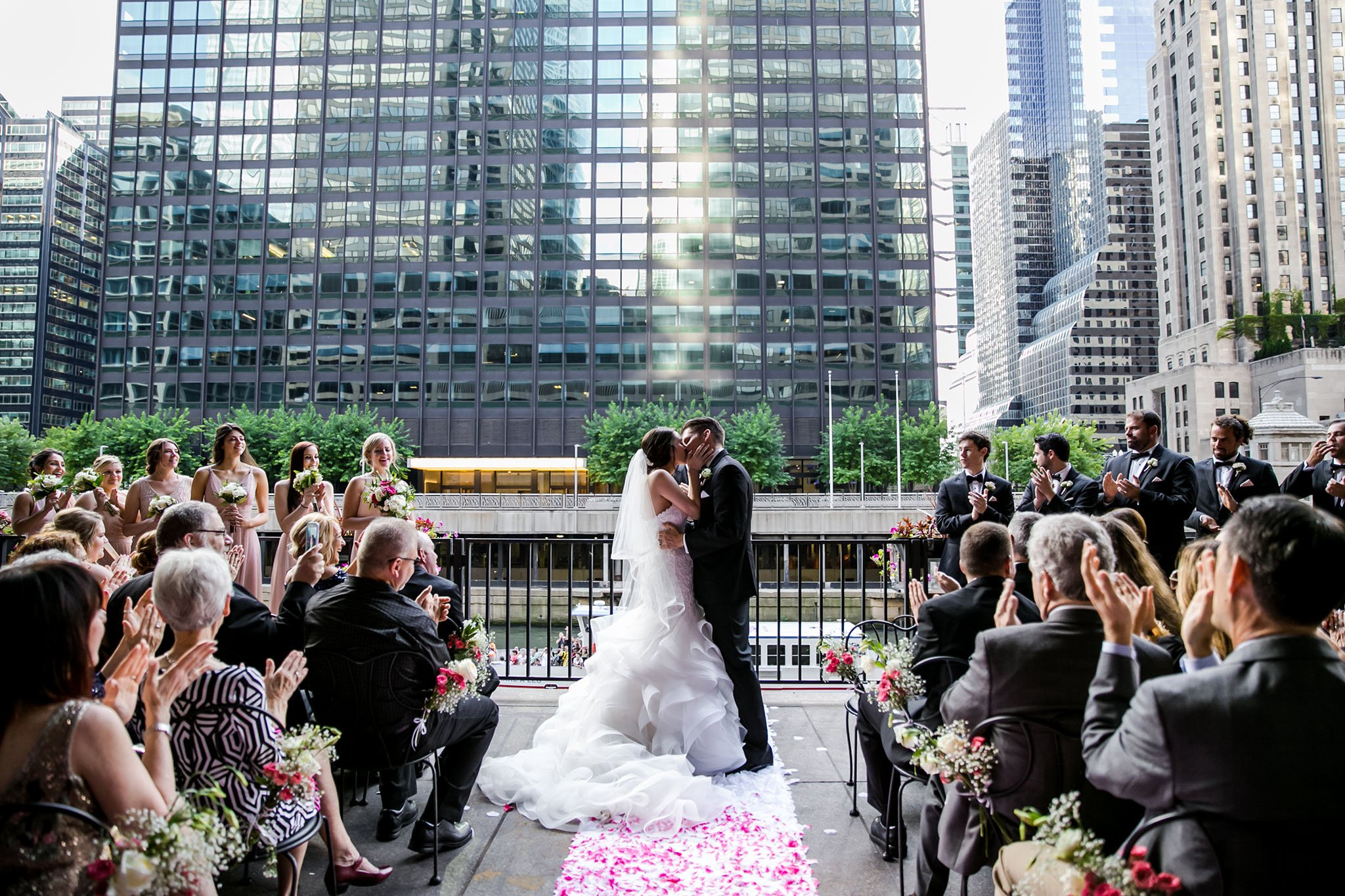 Rivers Chicago wedding