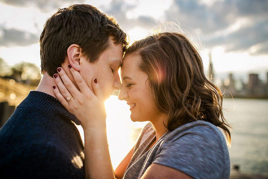 Chicago engagement session / Corie & Steven