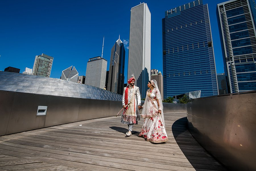 Chicago Indian wedding / Marmy & Dave