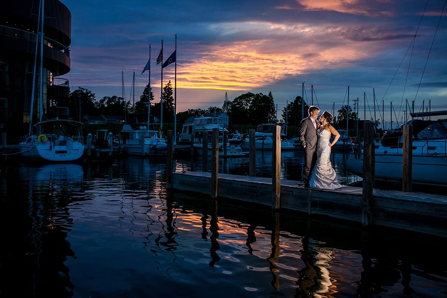 Traverse City wedding / Joyce & Michael