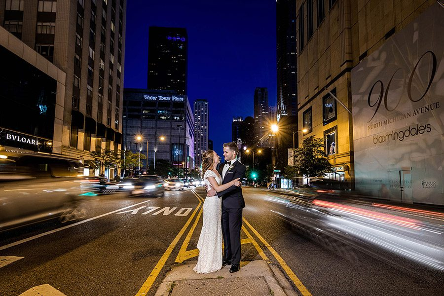 The Drake hotel Chicago wedding / Alexandra & Andrew