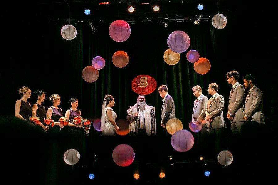 Mayne Stage wedding / Lei & Jason