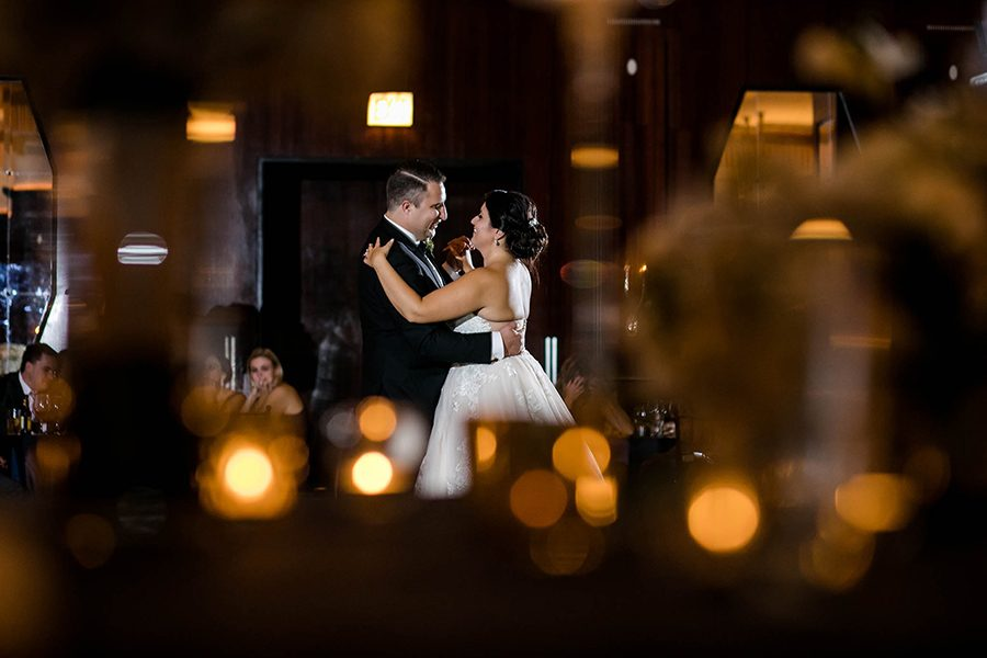 The Montgomery club  Chicago wedding / Michelle & John