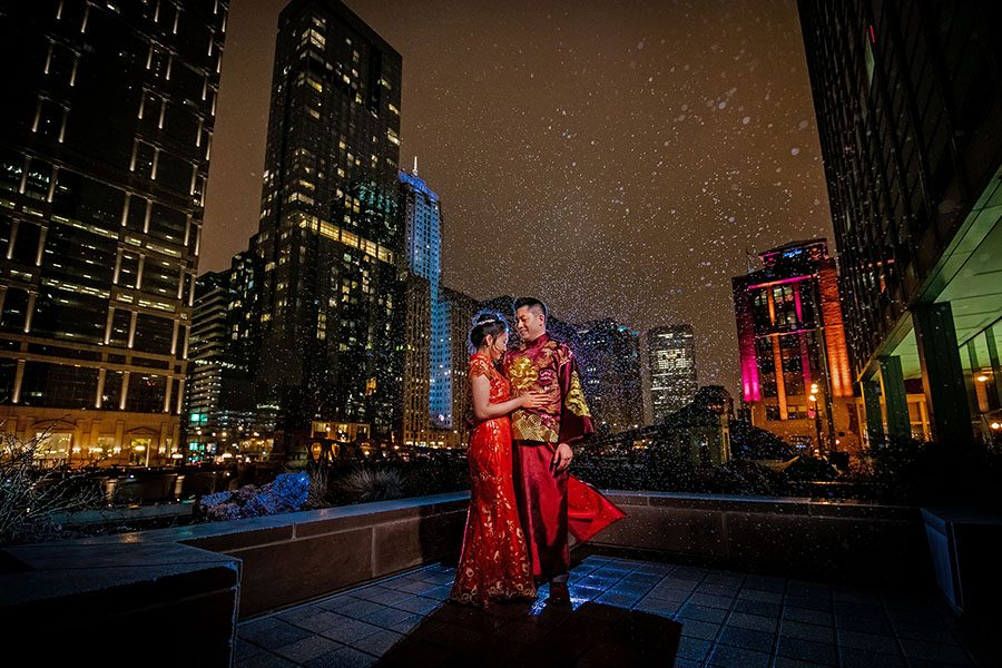 Westin River North wedding / wedding photography Chicago / Angela & James