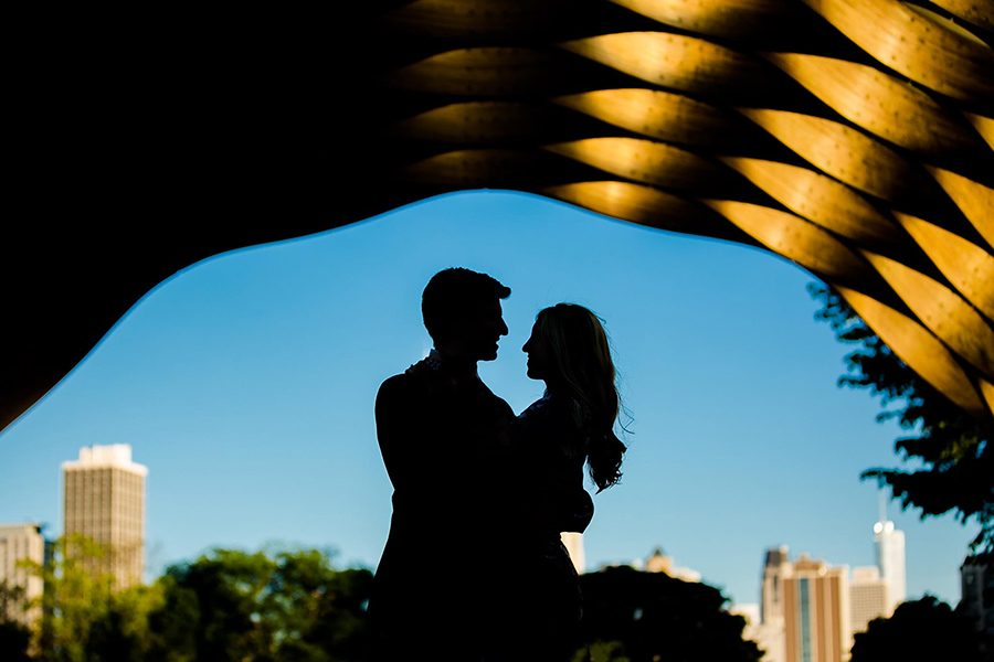 Engagement photographer in Chicago / Cassandra & John