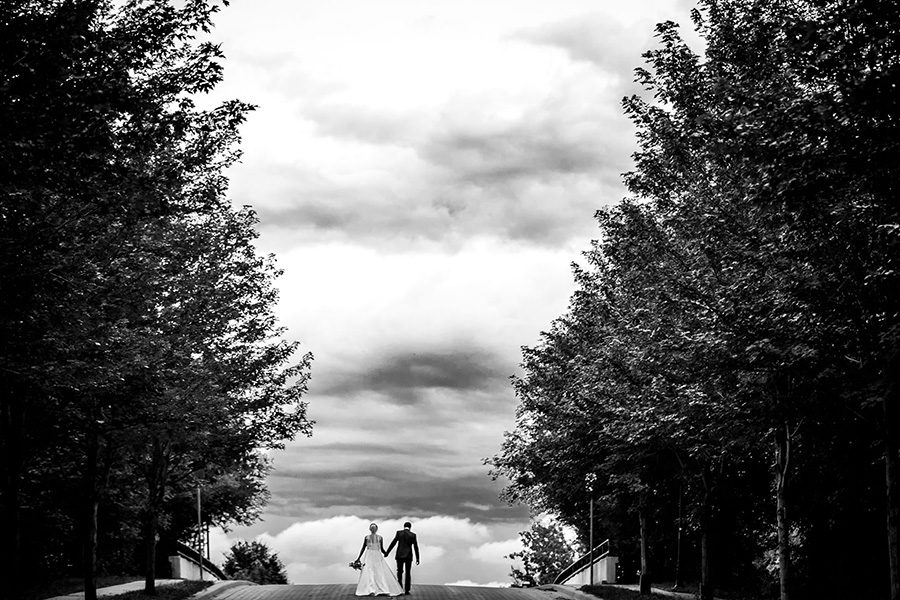Nicollet Island Pavilion wedding / Kelly & Luka