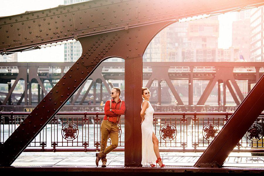 Chicago engagement photographer / Marija & Srdjan
