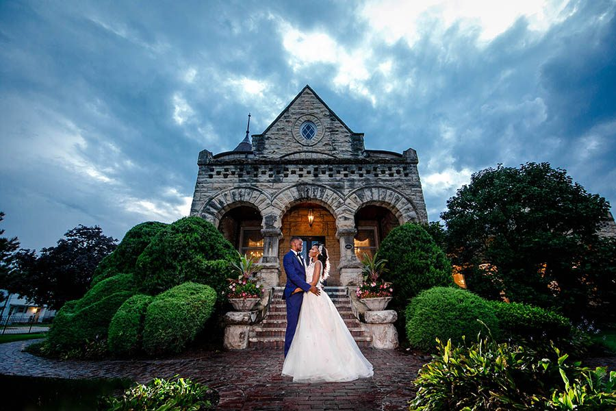 The Patrick Haley Mansion wedding photography / Jumoke & Nzube