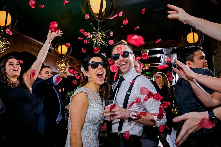 New Year's Eve wedding at Revolution brewery / Krisinda & Anthony