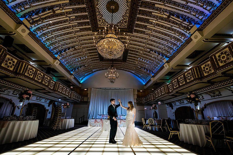 Millennium Knickerbocker wedding / Cassandra & John