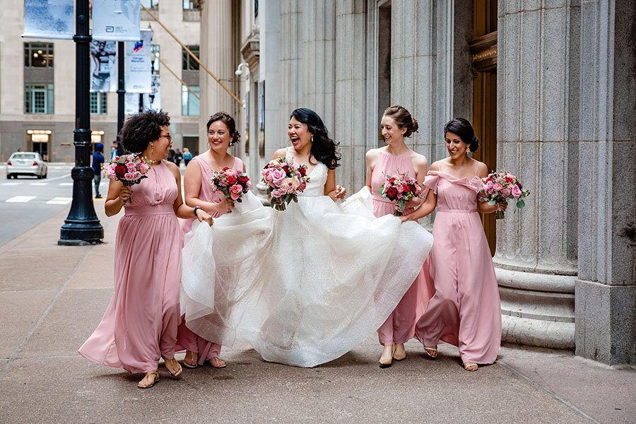 Blackstone hotel Chicago wedding / Linda & Haibo