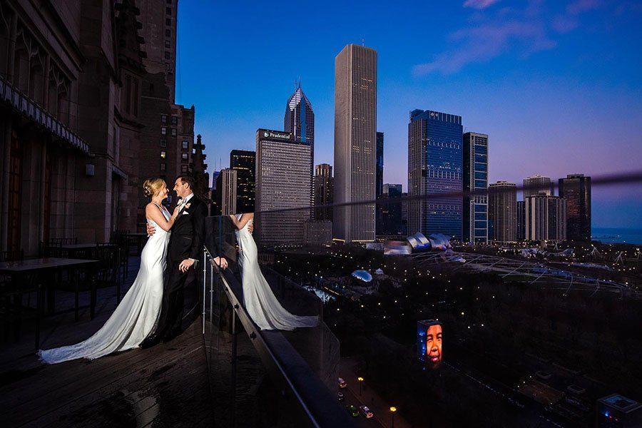 University Club of Chicago wedding/ Marissa & Andrew
