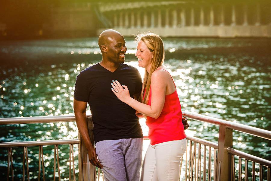 Chicago engagement photography/ Lauren  & Sylvester