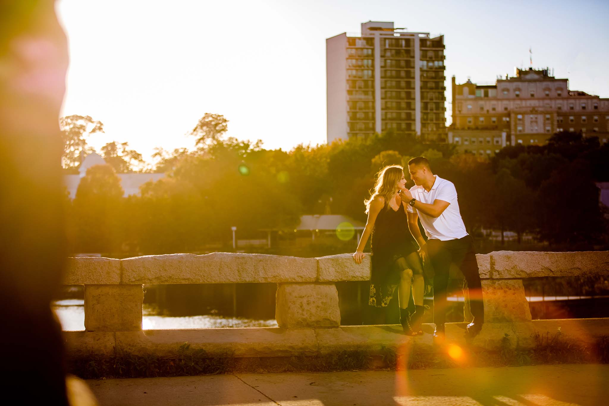 Lincoln park engagement session