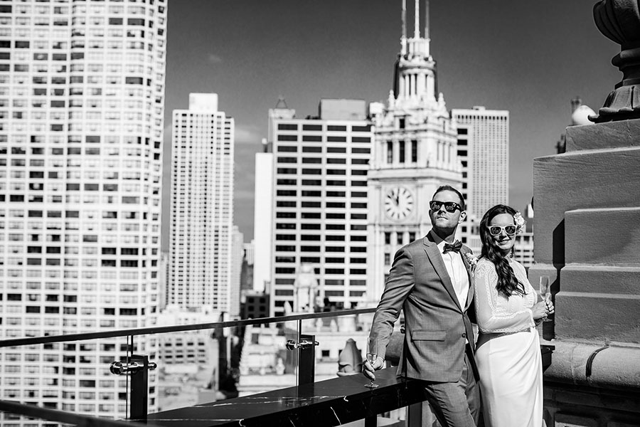 London  House Chicago wedding/ Isabell & Stephen
