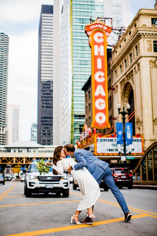London House Chicago wedding