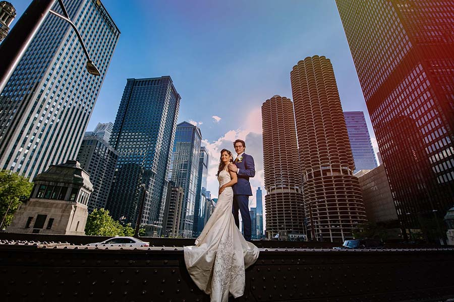 Royal Sonesta Chicago Wedding / Shereen & David