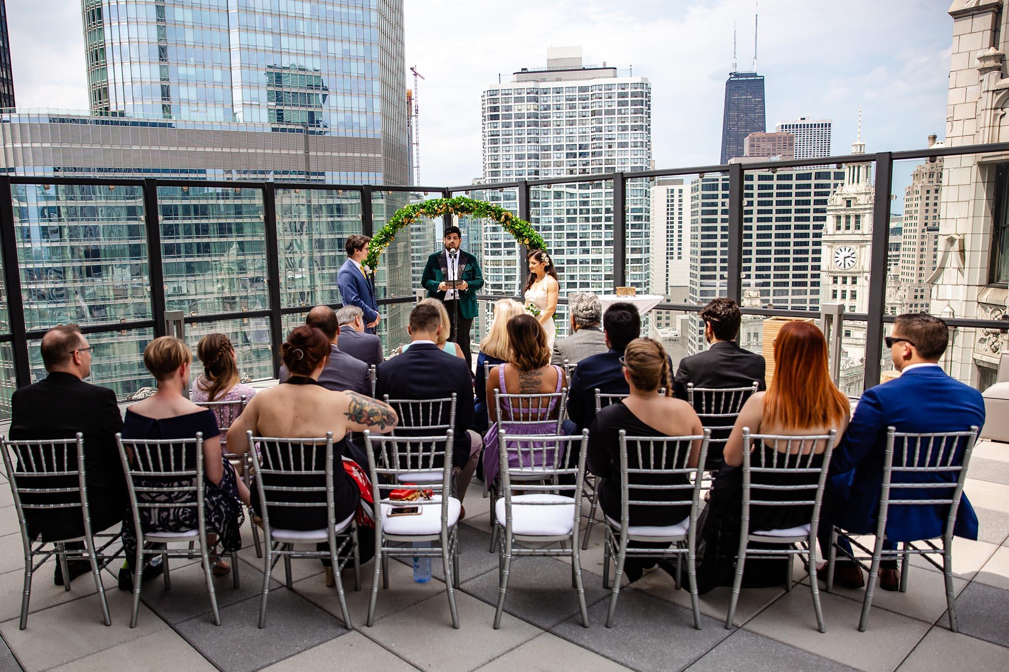 Royal Sonesta Chicago wedding